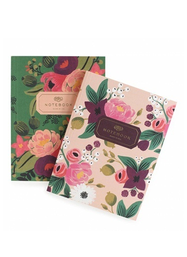 Vintage Blossoms 2'li Defter-Rifle Paper Co.